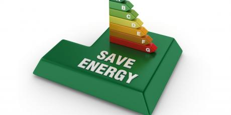 Energy efficiency diagram urging homewners to save money through upgrades with Tom Rostron Co. INC in New Jersey